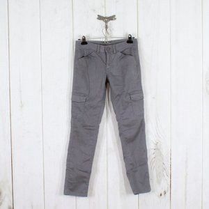 LL BEAN Cargo Style Skinny Fit Pants Size 2